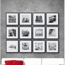 Andover Mills Noland 12 Piece Matted Picture Frame Set ANDV2374