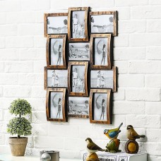 Gracie Oaks Douthitt Gallery Style Wall Hanging 12 Opening Photo Sockets Picture Frame GRCS3670