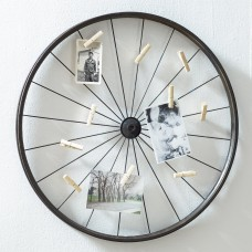 Trent Austin Design Millanocket Metal Wheel Photo Holder Wall Decor TADN2033