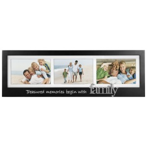 Malden Family 3-Opening Memory Stick Picture Frame MLDN1099