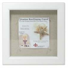 Highland Dunes McCloud Linen Inner Display Board Shadow Box Picture Frame HLDS8080