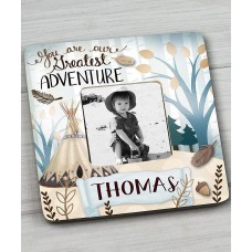 Toad and Lily Adventure Personalized Picture Frame TOLI1280