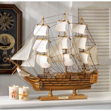 Beachcrest Home Hms Victory Wood Ship Model BCHH6263