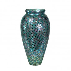 Rosecliff Heights Ariadnee Mosaic Glass Floor Vase ROHE7190
