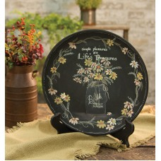 Gracie Oaks Miky Simple Pleasures Decorative Plate GRKS6728