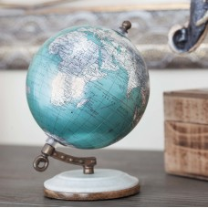 Charlton Home Marble and Resin Globe CLRB6070