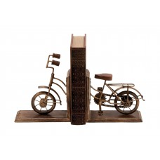 Cole Grey Metal Book Ends WLI4672