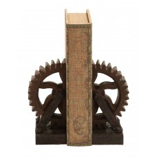 Trent Austin Design Rusted Gear Book End TADN8410