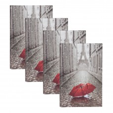 Red Barrel Studio Paris with Umbrella Photo Album RDBT2806