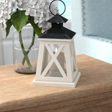 August Grove Traditional Wooden Lantern AGGR7904