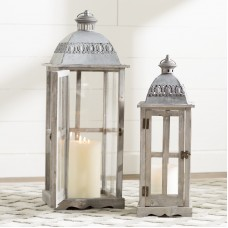 Lark Manor 2 Piece Lantern Set LRKM3052