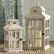 One Allium Way 2 Piece Metal Lantern Set OAWY7445