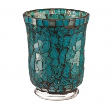 Bloomsbury Market Small Glass Hurricane BBMT2280