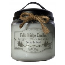 FallsBridgeCandles Sex on the Beach Scented Jar Candle FLBG1244