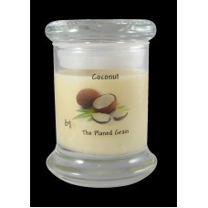 The Planed Grain Coconut Soy Scented Jar Candle THPG1056
