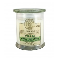 The Therapist Candles Winter Pine Utopia Scent Jar Candle TPST1030