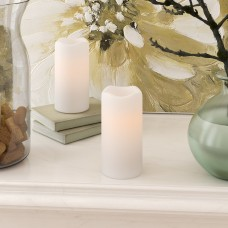 Ophelia Co. LED Scented Flameless Pillar Candle OPCO1576
