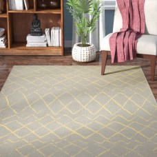 Mistana Petit Borendy Gray Indoor Area Rug MTNA4174
