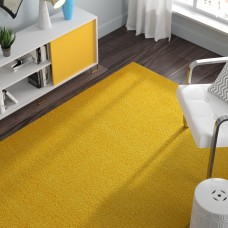 Zipcode Design Madison Basic Dark Yellow Area Rug ZPCD6332