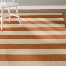 Andover Mills Alford Orange Indoor/Outdoor Area Rug ANDO3592