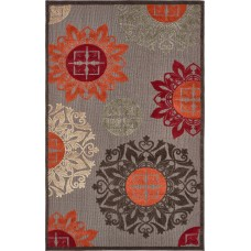 Bloomsbury Market Jessica Brown Indoor/Outdoor Area Rug BBMT2290