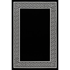 Bloomsbury Market Molden High-Quality Black Indoor/Outdoor Area Rug GADS1041