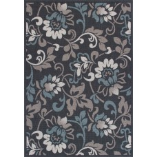 Winston Porter Eoin Weather-Proof Gray Indoor/Outdoor Area Rug QLMB1065