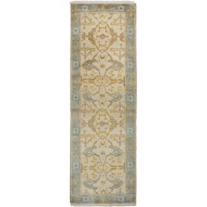 Bloomsbury Market One-of-a-Kind Li Hand-Knotted Wool Cream Area Rug FBWA1678