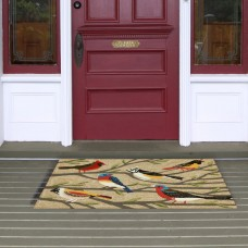 August Grove Ismay Birds Doormat ATGR8813