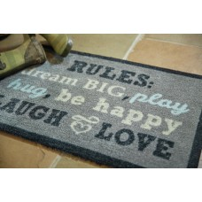 Hug Rug Muddle Mat Word Doormat HUGR1035