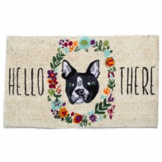 TAG Hello There Dog Coir Doormat TAJ2810