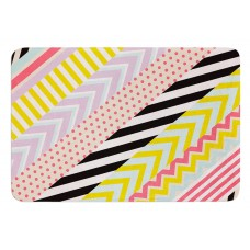 East Urban Home Diagonal Tape by Louise Machado Bath Mat ERBN3673