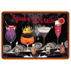 Bungalow Flooring Spooky Cocktails Kitchen Mat WDK1841