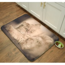 Pets@Heart Whimsical Whiskers Persian Kitchen Mat PTSH1010