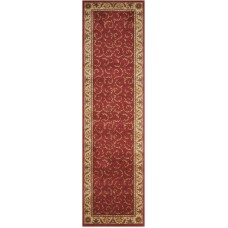 Charlton Home Merton Red/Gold Area Rug CHLH6482