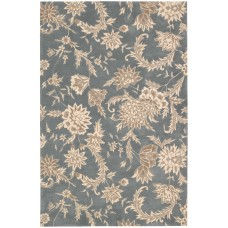Darby Home Co Elderton Hand-Tufted Slate Area Rug DRBH1105