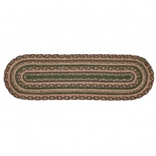 Loon Peak Fabiana Brown / Green Stair Tread LOPK6222