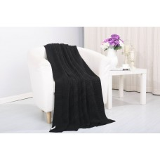 Alcott Hill Coggins Solid Classic Woven Knitted Throw ALTH2302