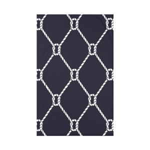 Beachcrest Home Bridgeport Ahoy! Geometric Throw Blanket BCHH8581