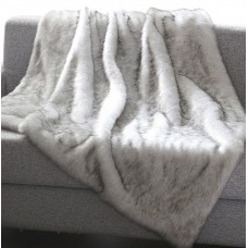 Foundry Select Chateaugay Heavy Faux Fur Blanket FNDS3122