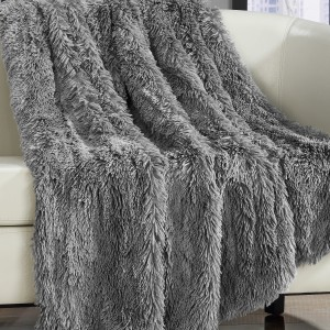 Willa Arlo Interiors Kostya Shaggy Faux Fur Supersoft Ultra Plush Decorative Throw Blanket WLAO3012