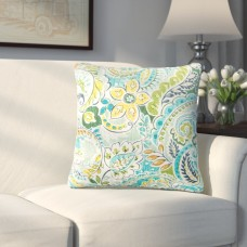 Alcott Hill Coppinger Floral Outdoor Throw Pillow ALTH6294