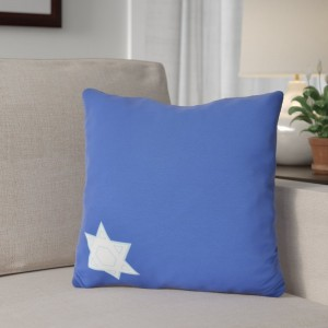 The Holiday Aisle Star's Corner Geometric Print Outdoor Throw Pillow HLDY7446
