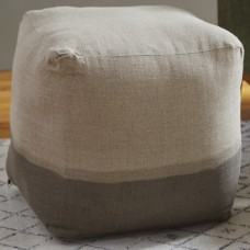 Beachcrest Home Hallie Pouf BCMH1243