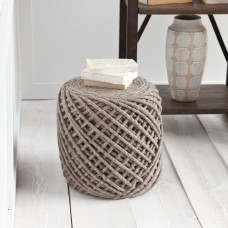 Laurel Foundry Modern Farmhouse Calie Pouf LRFY2136